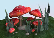 Design Windmill - Toadstools