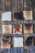 Burnt Posters - Toast Poster by Joana Kruse