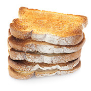 Bread Photos - Toast Stack by Colin and Linda McKie