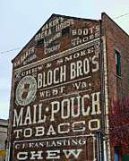 Chewing Tobacco Posters - Tobacciana - Mail Pouch Tobacco Poster by Paul Ward