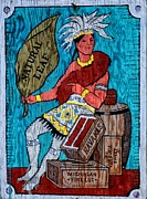 Cuba Mixed Media - Tobacco Sign by Todd and candice Dailey