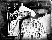 Carolyn Pettijohn - Toby Keith - Poster - Tornado Relief Concert- Black and White