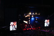 Tron Photos - Toby Keith Stage - Tornado Relief Concert  by Carolyn Pettijohn