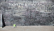 Jim Nelson Posters - Today Im Grateful For Poster by Jim Nelson