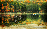 Reflecting Water Posters - Today is the Day Poster by Darren Fisher
