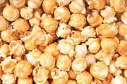 Popcorn Framed Prints - Toffee popcorn Framed Print by Jane Rix