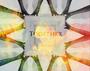 Together Digital Art Posters - Together 2 Poster by Stefan Kuhn