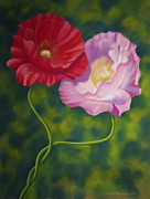 Flower Wall Art Prints - Together 3 Print by Veikko Suikkanen
