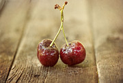 Cherry Metal Prints - Together Metal Print by Juli Scalzi
