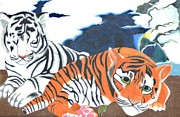 The Tiger Drawings - Together by Michael Hugue