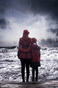 Two Waves Photos - Together We Are Strong by Joana Kruse