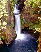 Tokatee Falls 1 Print by Marty Koch