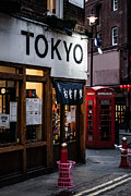 Colorful Photography Posters - Tokyo London Poster by Daniel Kocian