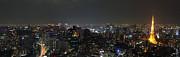 Fototrav Print - Tokyo skyline at night Japan