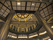 Bullet Framed Prints - Tokyo Station Entrance Rotunda Framed Print by David Bearden
