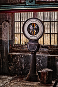 Machinery Photo Framed Prints - Toledo No Springs Scale Framed Print by Susan Candelario