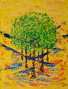 Pallet Knife Prints - Tolerance Print by William Killen