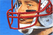 Patriots Painting Originals - Tom Brady by Rudy Browne