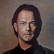 Philadelphia Painting Prints - Tom Hanks Print by Paul  Meijering