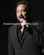 Blue-eyed Soul Prints - Tom Jones Print by Front Row  Photographs