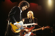 Rich Fuscia Prints - Tom Petty and Mike Campbell Print by Rich Fuscia