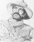 Tom Selleck Prints - Tom Selleck  Print by Jerome Cotone