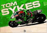 Evan DeCiren Art - Tom Sykes - SBK 2012 by Evan DeCiren