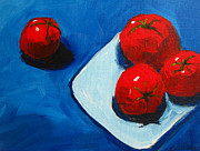 Food And Beverage Painting Originals - Tomatoes  by Patricia Awapara