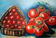 Tomatos Tomatas Print by Otis Zeon