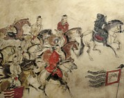Xian Prints - Tomb Of The Crown Prince Zhanghuai Print by Everett