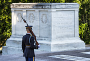 Guarded Framed Prints - Tomb of the Unknown Soldier Framed Print by John Greim