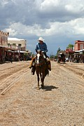 Arizona Cowboy Posters - Tombstone Arizona Territory Poster by Joe Kozlowski
