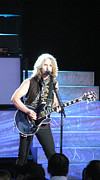 Styx Prints - Tommy Shaw of Styx Print by Melinda Saminski
