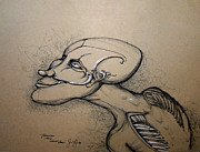 Hip Drawings Originals - Tomorrow May Never Come by Steve Fogle