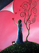 Nursery Decor Paintings - Tomorrows Promises Are A Dream Away by Shawna Erback by Shawna Erback