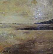 Brent Moody Paintings - Tonal seascape I by Brent Moody