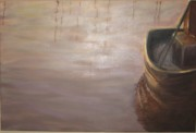 Brent Moody Paintings - Tonal Trawler by Brent Moody