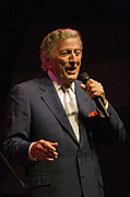 Crooner Photos - Tony Bennett by Craig Lovell