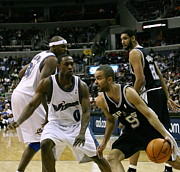 Parker Photos - Tony Parker Poster by Sanely Great