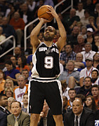 Nba Art - Tony Parker by Sanely Great