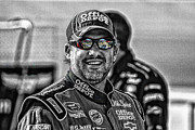 Kevin Cable - Tony Stewart smiles