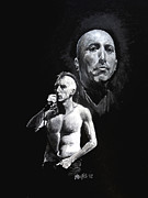 Celebrities Paintings - Tool by William Walts
