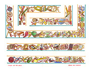 Tools Of The Artist Illustrator Print by Jack Pumphrey