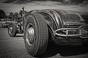 Rat Rod Photos - Top Down Rat by Perry Webster