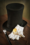 Lee Avison - Top Hat Cane White...