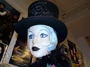 Slash Art - Top Hat Girl by Ed Weidman
