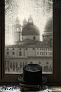 Window Sill Posters - Top Hat Poster by Joana Kruse