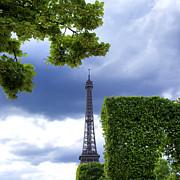 BERNARD JAUBERT - Top of the Eiffel Tower. Paris. France.
