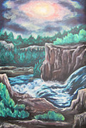 Cheryl Pettigrew - Top of the Falls