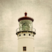 Top Of The Lighthouse Print by Scott Pellegrin